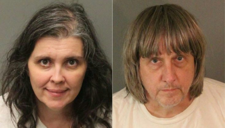 Louise Anna Turpin, 49, and David Allen Turpin, 57, have been arrested after authorities said their 13 children had been held captive in their home, with some shackled to beds | © Riverside County Sheriff's Department/AFP | Jose ROMERO