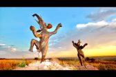 VIDEO: Fort Klapperkop sculpture disappears
