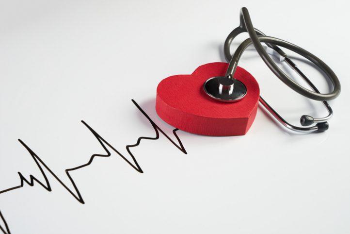 stethoscope, heart, cardiogram, medical
