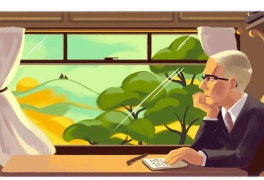 Google doodle celebrates Alan Paton on 115th birthday