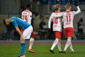 Fans stay away as Napoli slump to Leipzig in Europa League