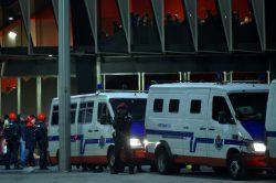 Nine arrests over Bilbao v Spartak fan violence