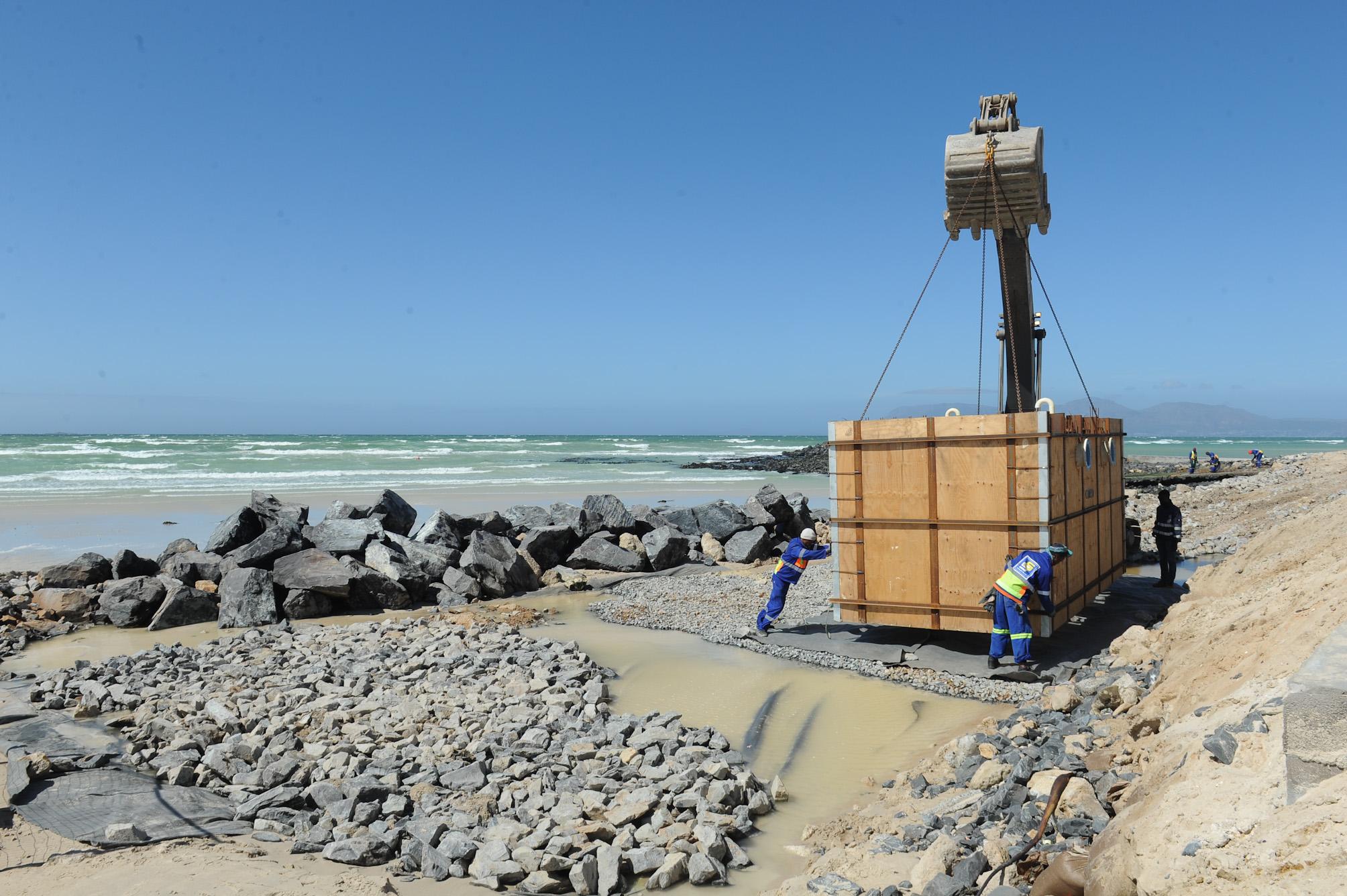 PHOTOS Desalination plant Monwabisi & Strandfontein Pavillion