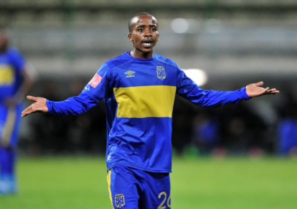 Thabo Nodada of Cape Town City (Ryan Wilkisky/BackpagePix)