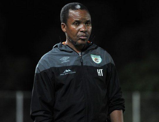 Baroka FC head coach Kgoloko Thobejane (Aubrey Kgakatsi /BackpagePix)