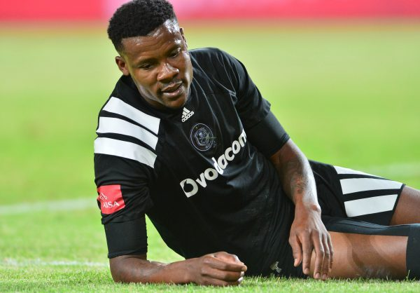 Thamsanqa Gabuza of Orlando Pirates (Samuel Shivambu/BackpagePix)