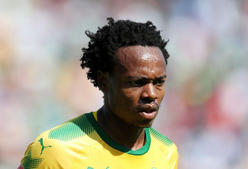 Percy Tau of Mamelodi Sundowns (Muzi Ntombela/BackpagePix)