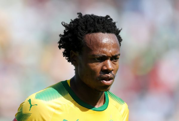 Percy Tau of Mamelodi Sundowns (Muzi Ntombela/BackpagePix)