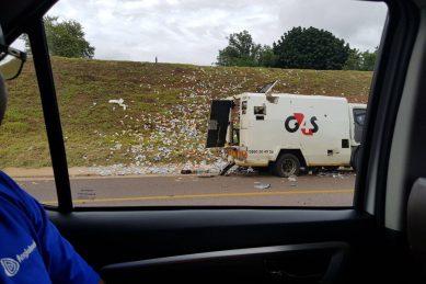 WATCH: Daring cash heist on PTA north highway
