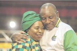 Dlamini-Zuma remains mum on campaign funding