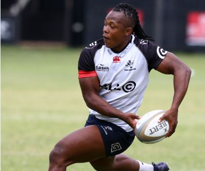 Sbu Nkosi should be expected to reach new heights in Super Rugby with the Sharks. Photo: Steve Haag/Gallo Images.