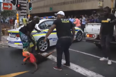 Charge attacker of JZ supporter