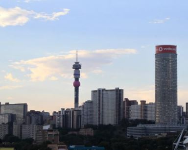 The City of Johannesburg.