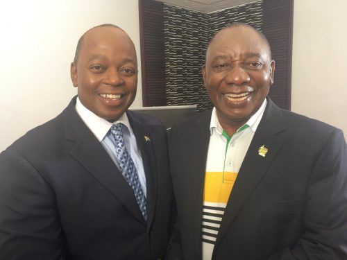 Peter Ndoro 'humbled' by messages of support after 'killing off Ramaphosa'