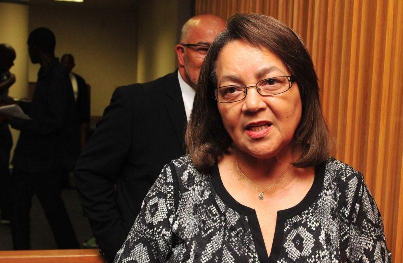 Cape Town Mayor Patricia de Lille.