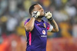 Khune comes under fire for boasting about clean sheets