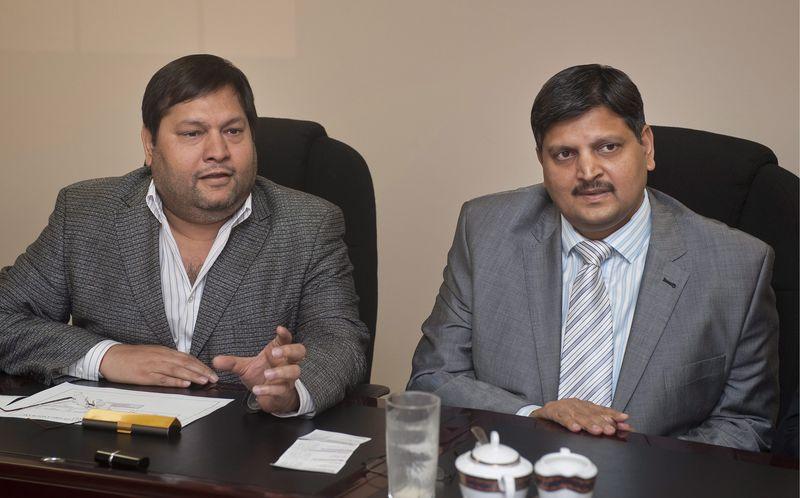 Atul and Ajay Gupta.