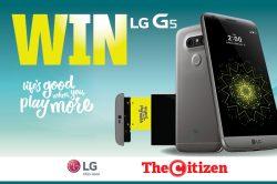 WIN AN LG G5 SMARTPHONE