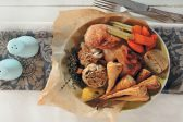 Recipe: Lemon-roasted chicken with parsnips