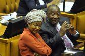 Best reactions to Baleka Mbete kissing Cyril Ramaphosa