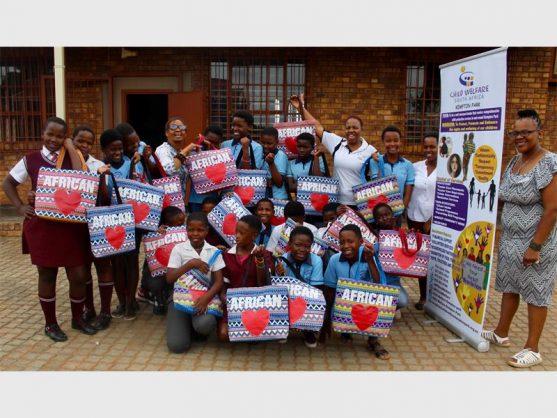 WATCH: Child Welfare donates sanitary pads to Mehlareng girls in Tembisa