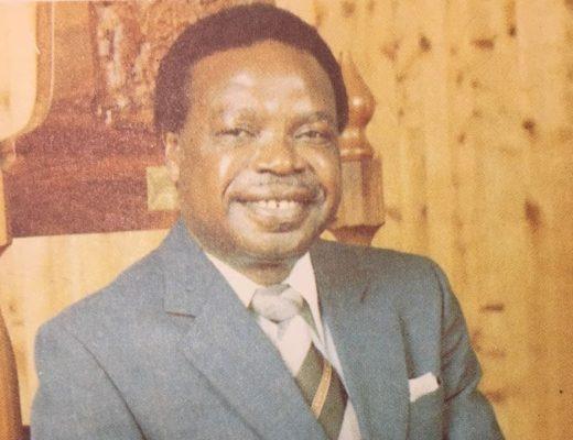 Hudson Ntsanwisi. Photo: The Views of Professor H.W.E. Ntsanwisi, Chief Minister of Gazankulu, Edited by H.T.Cooper