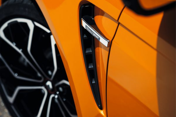 BADGE RENAULT SPORT - AERATION EXTERIEURE LATERALE