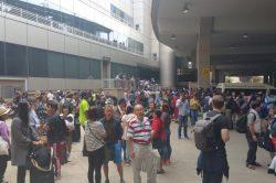 OR Tambo Airport evacuation 'not part of simulation'