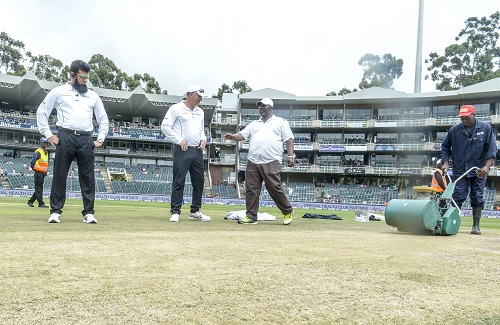 The Wanderers pitch has attracted more attention than it would want to the past week or so. (Photo by Sydney Seshibedi/Gallo Images)