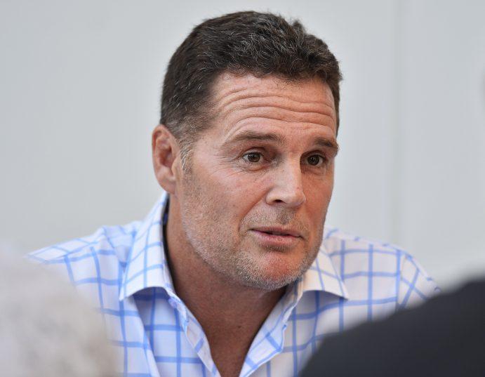 The saviour of the Springboks' brand? Saru director of rugby Rassie Erasmus. (Photo by Ashley Vlotman/Gallo Images)
