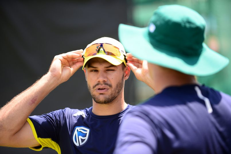 A peek into the future? Aiden Markram will captain the Proteas for the rest of the series against India. (Photo by Lee Warren/Gallo Images)