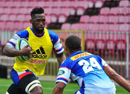 Siya Kolisi will lead the Stormers again. (Photo by Grant Pitcher/Gallo Images)