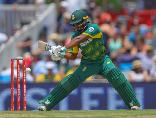 Khaya Zondo made a promising debut for the Proteas. (Photo by Gordon Arons/Gallo Images)