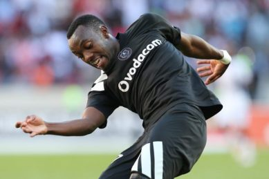 Pirates coach hopes goal will get Shonga up and running