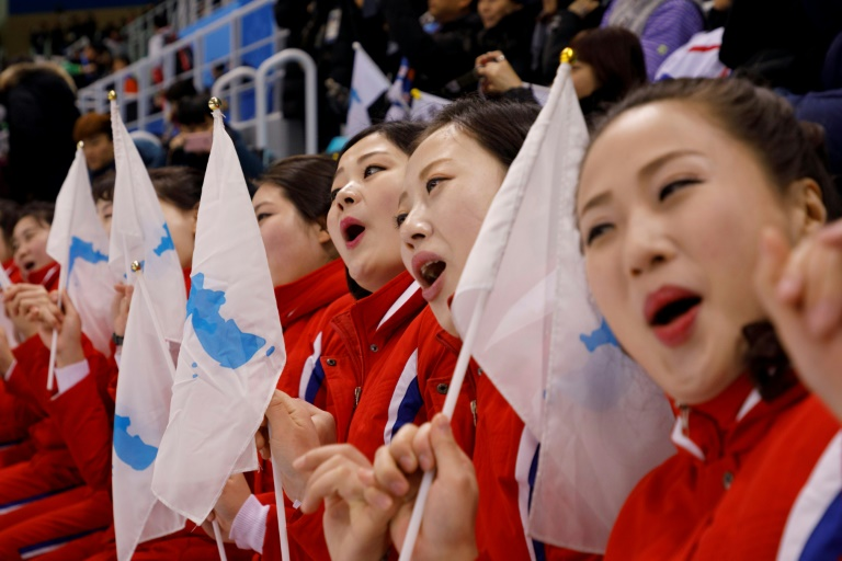 North's 'army of beauties' seduces as Koreans suffer hockey