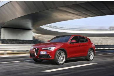 New Alfa Romeo Stelvio has its own special tyres made by Goodyear