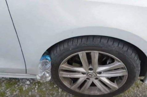 A potential new way of stealing cars. Photo: Supplied