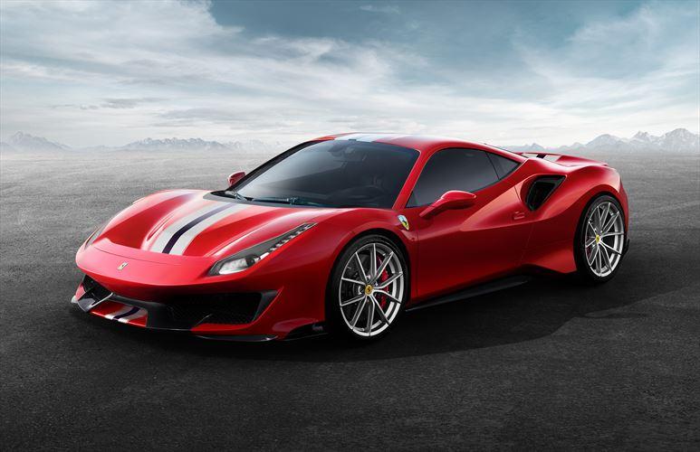 Ferrari 488 special-edition dubbed Pista