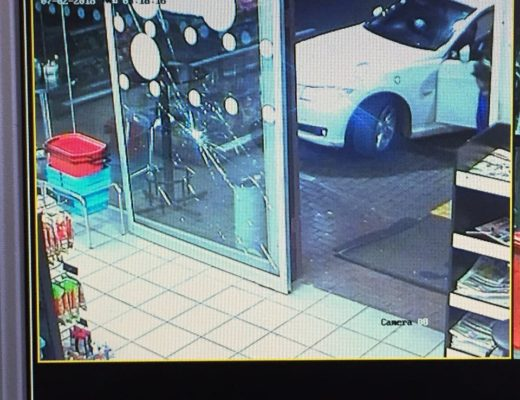 CCTV footage at one of the robberies. Photo: SAPS