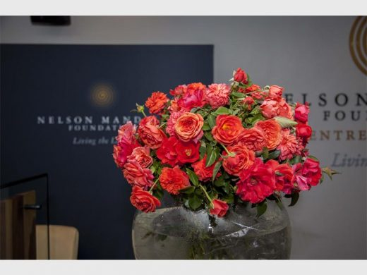 The rose Nelson Mandela was launched at the Nelson Mandela Foundation to mark the year-long celebration of the centenary of Nelson Mandela's birthday on 18 July.