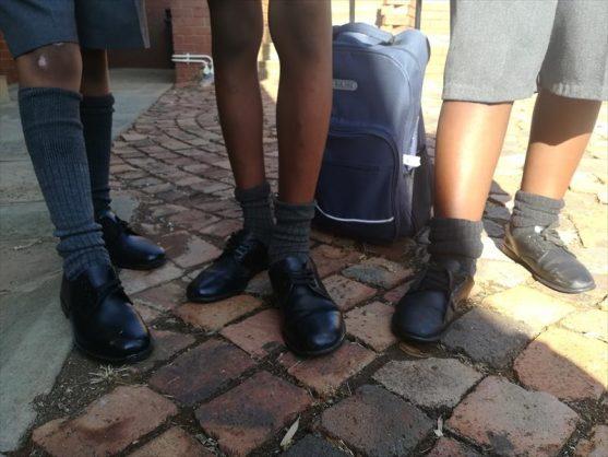 School uniform. Photo: Thato Mahlangu