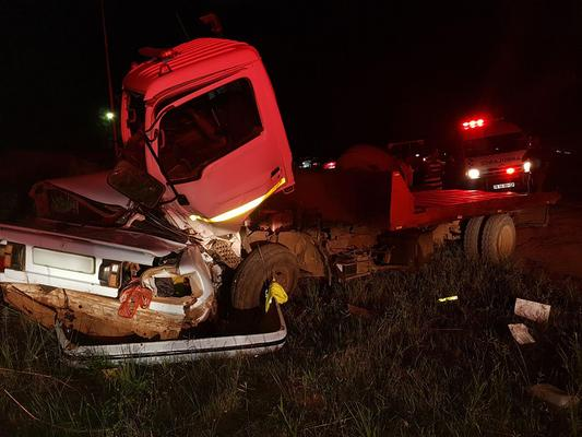 hree people were killed and five others were injured when a car and a truck collided on the R36 outside Tzaneen in Limpopo. Photo: ER24