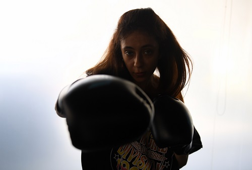 Pulling no punches: Saudi woman boxer breaks exercise taboo
