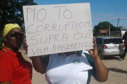 Public servants demand to see the back of 'corrupt' Supra