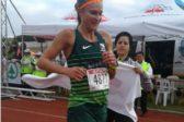 Molotsane and pregnant Van Zyl flaunt their form