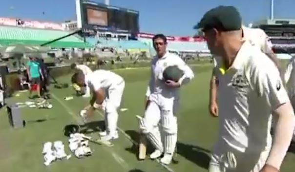 Warner fined 75 per cent of match fee