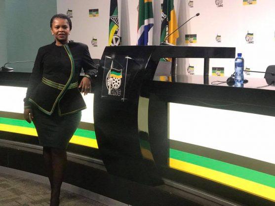 Spokesperson for the presidency Khusela Diko. Picture: Facebook.