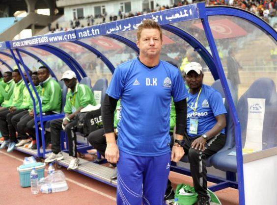 Gor Mahia head coach Dylan Kerr (BackpagePix)