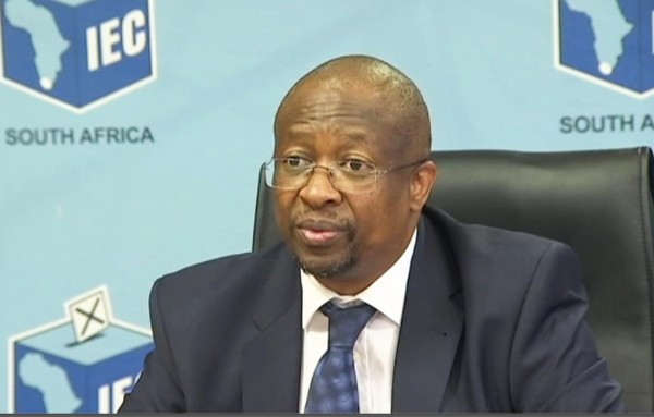 IEC chief electoral officer Sy Mamabolo.