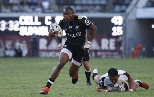 Makazole Mapimpi was one of the best wingers on show last weekend. (Photo by Steve Haag/Gallo Images)